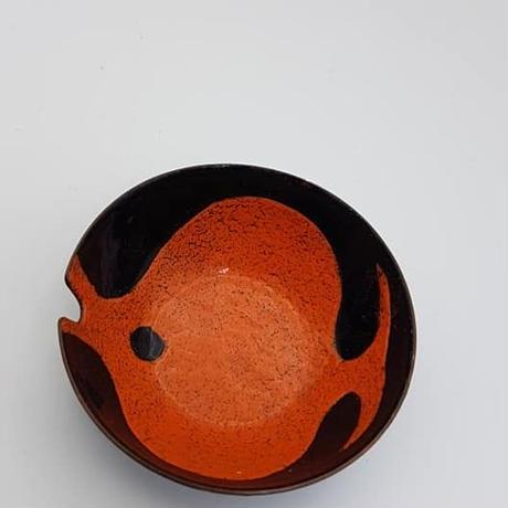 1960's DDRエナメルお魚の灰皿 DE002