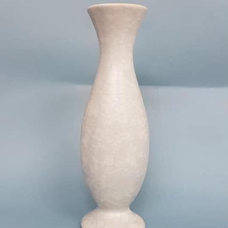 1950's Bay keramik 輸出用ベース ペールブルー×イエロー/WK085