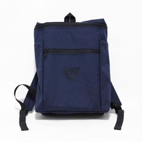 COMA BRAND BACKPACK <Navy x Grey Logo>
