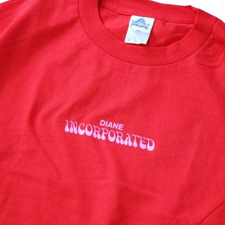 Diane Inc. Incorporated Tee Red / Pink