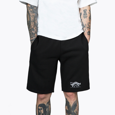 MIP LOGO SHORTS – BLACK <Made In Paradise>
