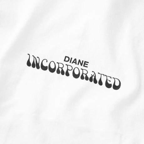 Diane Inc. Incorporated Tee  White / Black