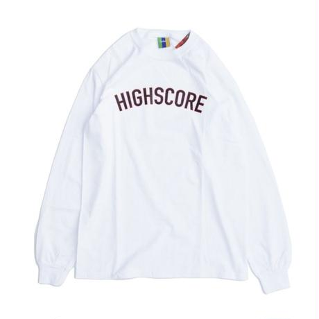 BEDLAM HIGH SCORE ARCH LONG SLEEVE <White>