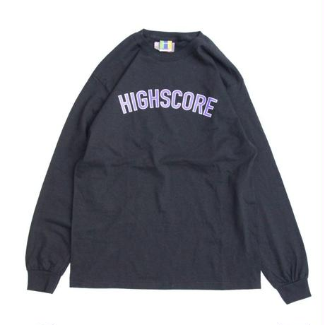 BEDLAM HIGH SCORE ARCH LONG SLEEVE <Black>