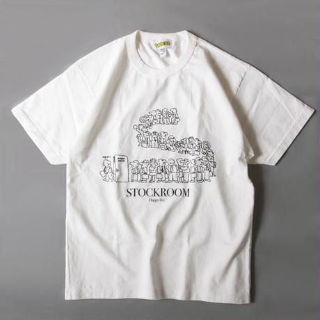 Stockroom 5th Anniv. Long Line  8.5oz. S/SL Tee Designed By Naoya Koide