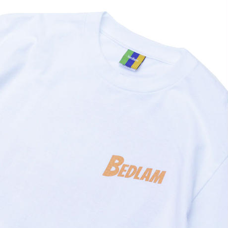 Bedlam Invade Planets S/SL Tee <White>