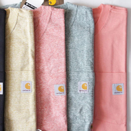 Carhartt Work S/SL Tee With Pocket <Many Colors>