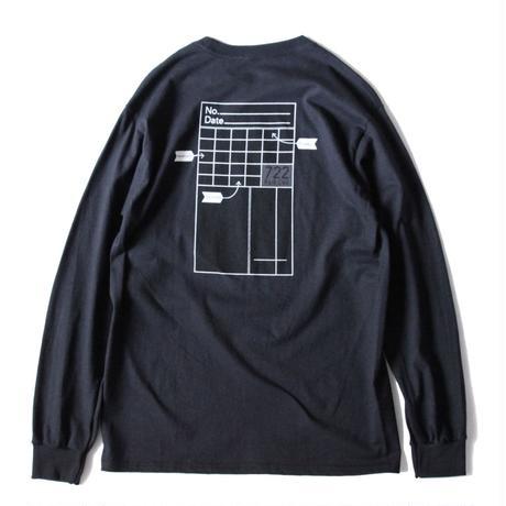 Crown Heights L/S tee <Black>