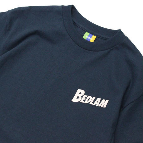 Bedlam Invade Planets S/SL Tee <Navy>
