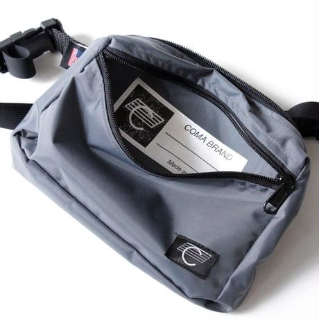 Coma Brand Hip Bag <Chacoal Grey>