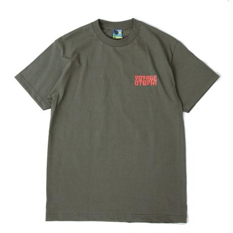 VOYAGE Crestwood S/SL Tee <Military Green>