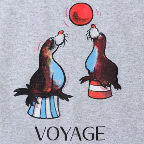 Voyage Sealion S/SL Tee <Heather Grey>