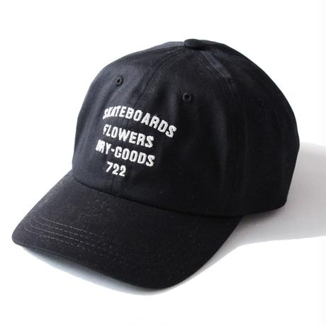 Crown Heights pre Curved cap <Black>
