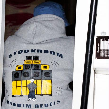 Stokroom RIDDIM REBELS HOODIE Designed by Daniel Tager