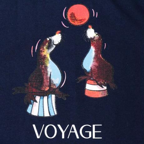 Voyage Sealion S/SL Tee <Navy>
