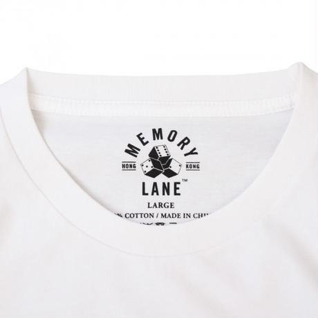 MEMORY LANE FACE OFF TEE – WHITE