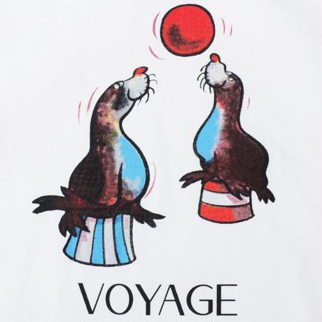 Voyage Sealion S/SL Tee <White>