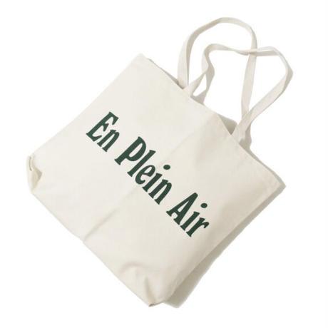 En Plain Air CORE LOGO JUMBO TOTE BAG