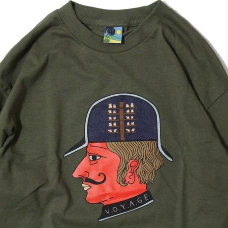 Voyage Intelligence L/SL Tee <Military Green>