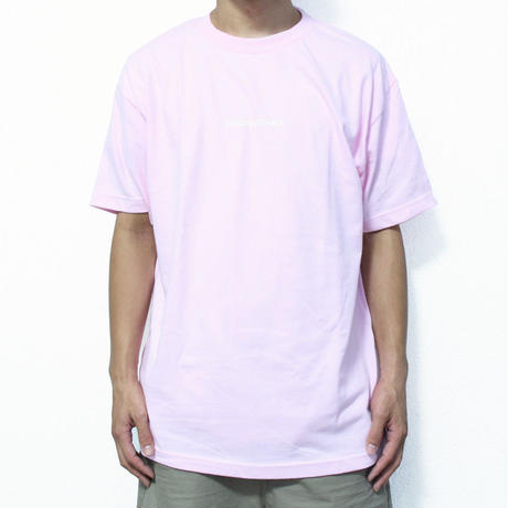 Future Replica Logo Tee <Light Pink> フューチャーレプリカ ロゴ Tシャツ ライトピンク