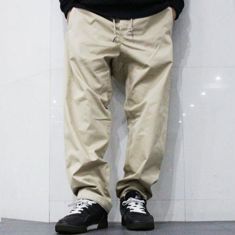 DAN Graphic Logo Easy Work Pants <Beige>Designed by Daniel Tager
