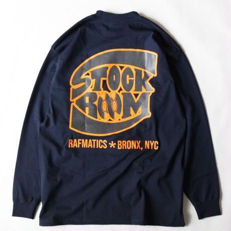 Stockroom x Rafmatics Bronx L/SL Tee <Navy>