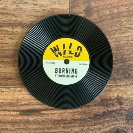 Record Shape Coaster