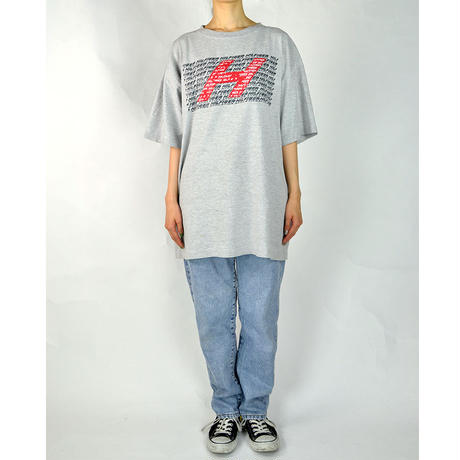 TOMMY HILFIGER / S/S T-SHIRTS(USED) COL:GRAY