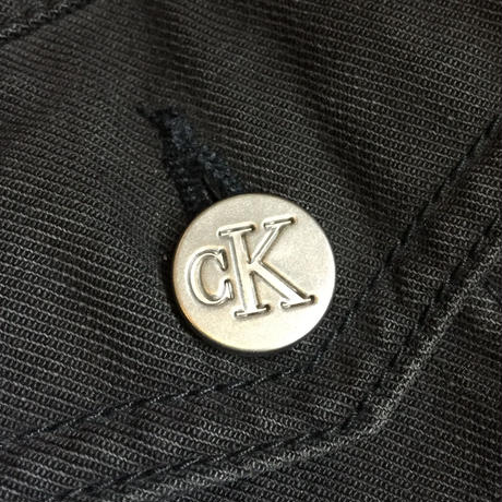 CALVIN KLEIN / DENIM JACKET(USED) COL:BLACK NO.10