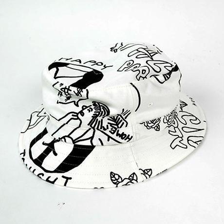 10匣 TENBOX / TENBOX × FACE ACID HAT COL:WHITE