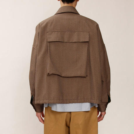 MAINTENANT TOKYO / FILLING WITH WIND BLOUSON (MT-719501) COL:BROWN