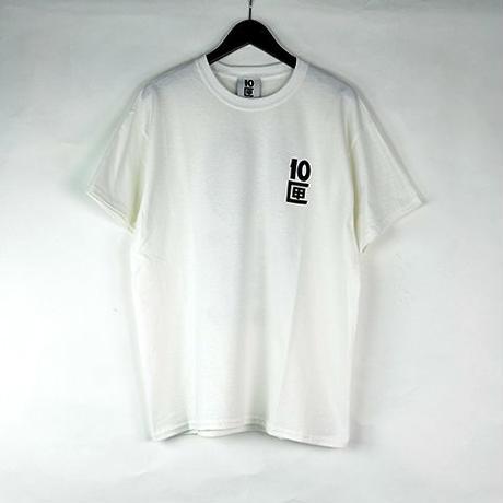 10匣 TENBOX / TENBOX LOGO TEE COL:WHITE