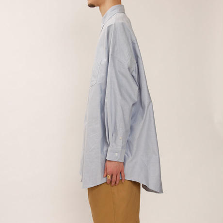 MAINTENANT TOKYO / NEW BROOKS BUTTON DOWN SHIRT (MT-219502) COL:BLUE