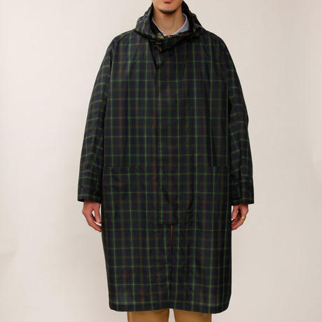 MAINTENANT TOKYO / BIG THAN BIG WIND COAT (MT-619502) COL:TARTAN CHECK
