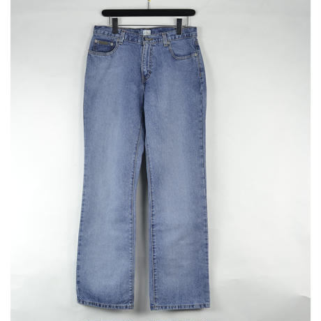 CALVIN KLEIN / DENIM PANTS (USED) COL:INDIGO NO.98