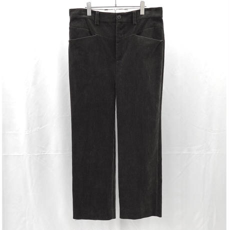 URU TOKYO / COTTON CORDUROY EASY PANTS  COL:D.BROWN