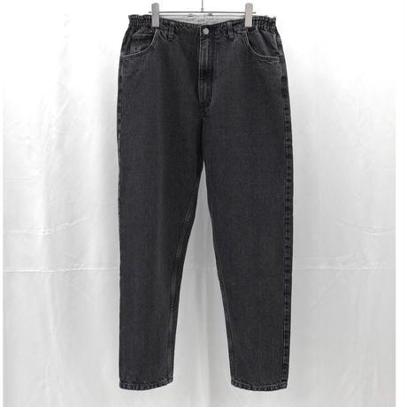 URU TOKYO / DENIM EASY PANTS (TYPE B) COL:L.BLACK