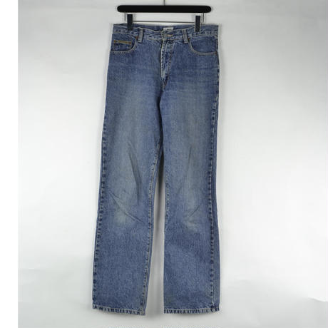 CALVIN KLEIN / DENIM PANTS (USED) COL:INDIGO NO.114
