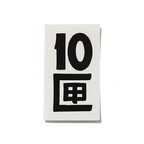 10匣 TENBOX / TENBOX STICKER COL:BLACK