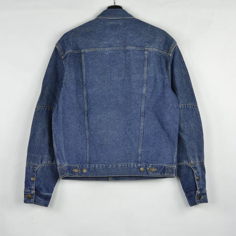 CALVIN KLEIN / DENIM JACKET(USED) COL:INDIGO NO.2