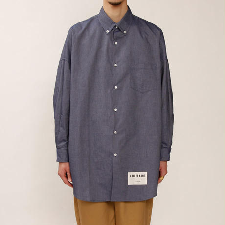 MAINTENANT TOKYO / NEW BROOKS BUTTON DOWN SHIRT (MT-219502) COL:NAVY