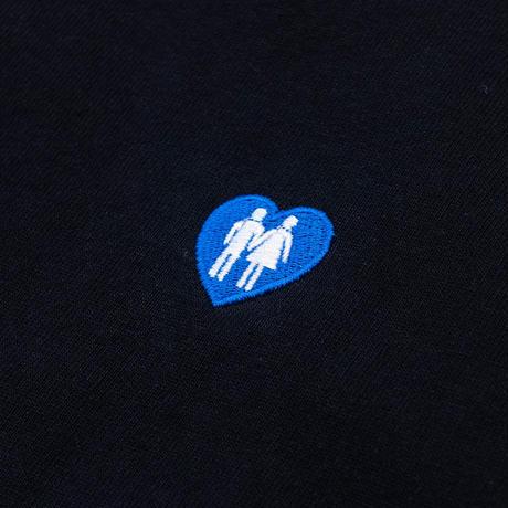 """LOVE BLUE LOGO T-SHIRT"""