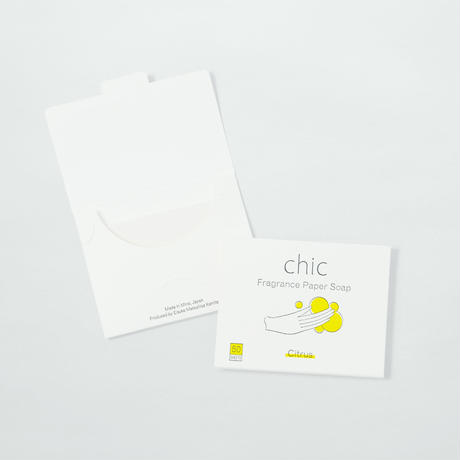CHIC FRAGRANCE PAPER SOAP