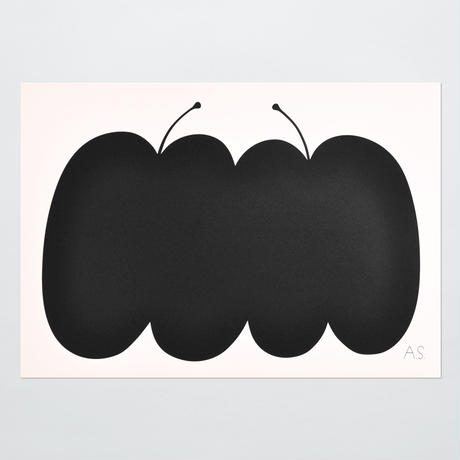 ANDREAS SAMUELSSON & PAPIER LABO.〈POSTER/TWO APPLES〉