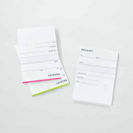 PAPIER LABO.〈RECEIPT〉(3COLORS)
