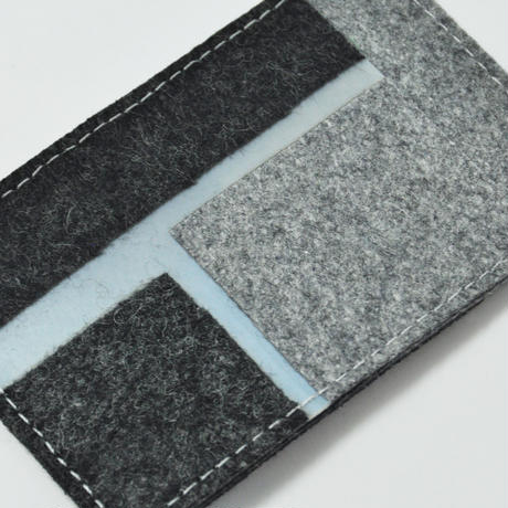 LUISA CEVESE〈CARD CASE_WOOL FELT/S〉(2TYPES)