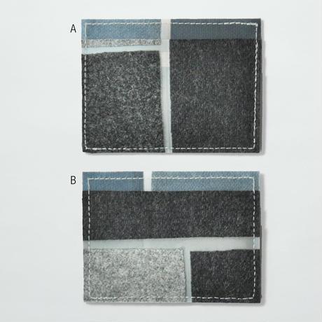 LUISA CEVESE〈CARD CASE_WOOL FELT/L〉(2TYPES)