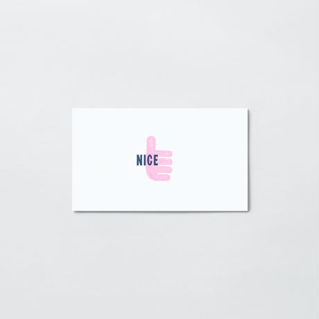 PAPIER LABO.〈ONE WORD CARD〉 (3TYPES/3PCS)