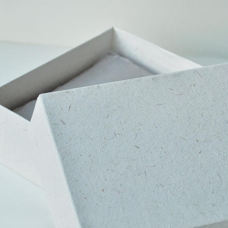 INDIA HANDMADE COTTON PAPER 〈BOX_SMALL〉(2COLORS)