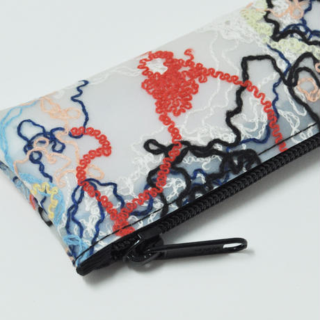 LUISA CEVESE〈PEN CASE_CASHMERE THREADS〉(2TYPES)